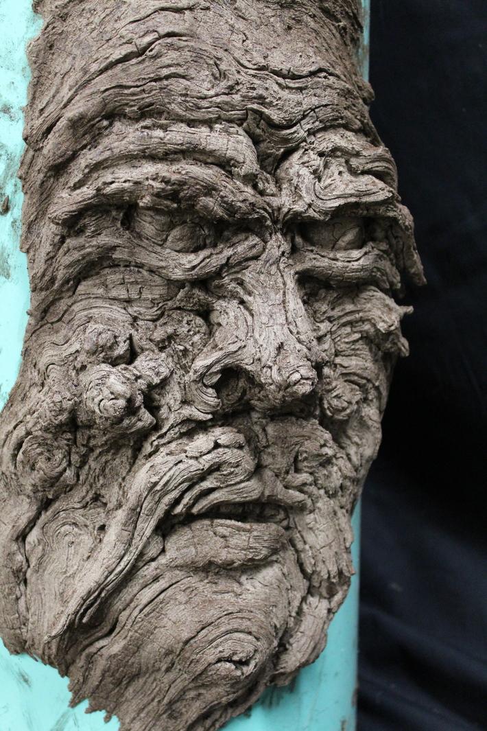 Treebeard Sculpted Epoxy Face