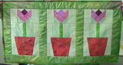 Front of Quilt - Springtime