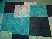 crazy nine patch blocks