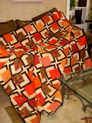 Wonky quilt