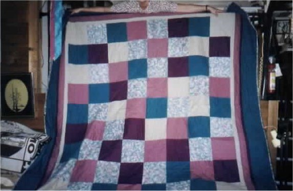 Another quilt i made for may sister
