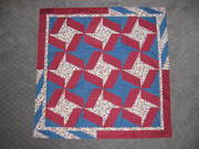 My X Block Quilt Top Finished 2010