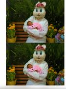 Leticia First Easter Pic's