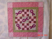 Ribbons of Hope Quilt Front