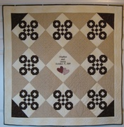 Ball & Chain Wedding Quilt