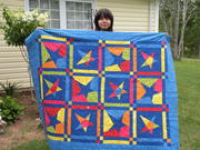 GD Sabrina with Star Crazy Quilt