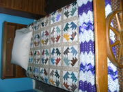 Ts quilt on bed