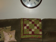 My first quilt. quilting. healing, sewing 003