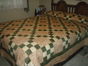 """My first full size """"Queen"""" quilt"""