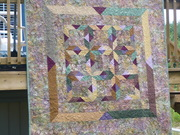 My First Quilt - May 2007