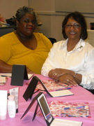 Mary Kay Party with a friend!!!