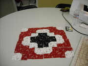 Project I worked on at quilt guild