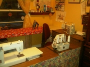 Sewing room with no money!