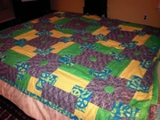 Joanna's quilt completed