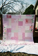 Lindsey's breast cancer quilt