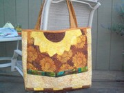 Sue's sunflower bag