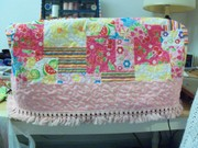 My homemade sewing machine cover