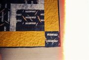 Keaton's San Diego Chargers quilt