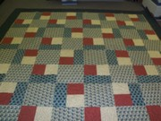 Mom's king size quilt