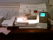 My new embroidery/sewing machine