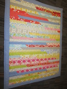 Anna's jelly roll quilt