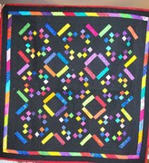 Confetti baby quilt