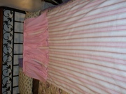 Valance and blind I made for a little girls room.