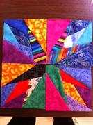 my first quilting blocks