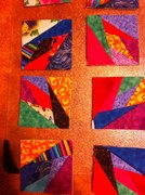more of my blocks from my first experience of quilting