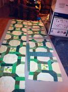 celtic chain table runner and placemats