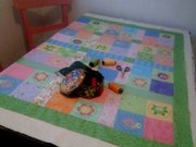 Pretty quilt for Chloe