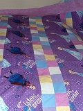 Frozen Quilt for Mila