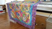 Isabelle's 8th Birthday twin quilt May 2018