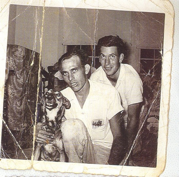PawPaw and Eddie Prevost  his brother-n-law