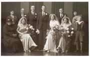 Tipton relatives wedding portrait