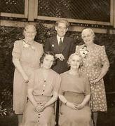 Nelly, James, Mary, Betty, Mae O'Rourke