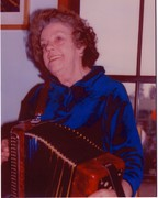 Maisie Hodges [Mum] with Button Accordian