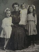 Sarah (Rentfrow) Allen & Children