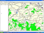 Mapa okolic Pruchnika