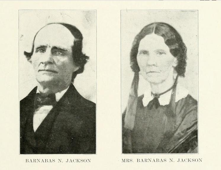 Barnabas and Jane (Meek) Jackson