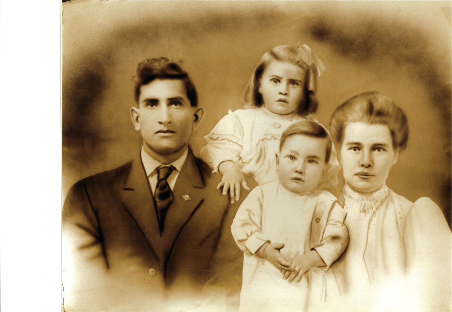james and vercie SARGENT with Emil and Arhur