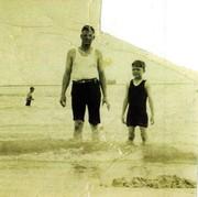 Grandpa Joseph Dernier Kearney and His Son John