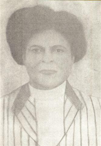 Ellen King Caver, wife of  Wesley