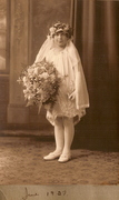 Emma Hartmann Holy Comm 1927