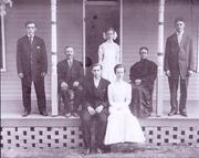 1900 Kelse,Samuel, Estie, Rebecca & Gordon Rickel and Arthur & Florence Brown