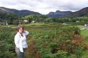 Anne in the Lake District 2009