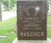 Charles and Dorothea Wascher