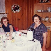 Aunt Marion and Grandma