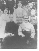 George W. Dickerson family photo by Jeanette Melis