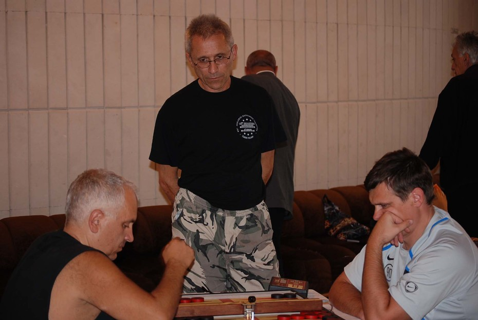 "Backgammon Semifinal  Main ""Yalta Meetings -2008"""